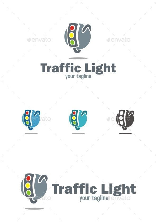 Traffic Light Logo - Symbols Logo Templates