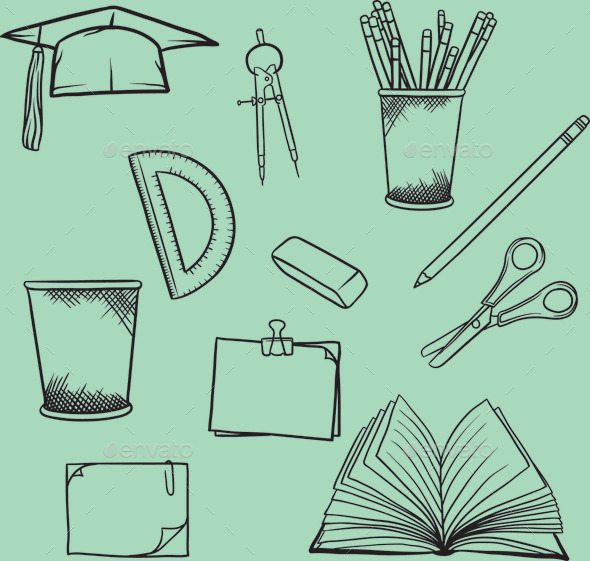 School Element - Man-made Objects Objects