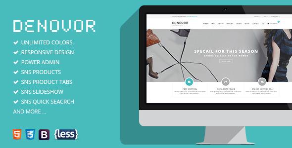 SNS Denovor - Responsive Magento Theme - Magento eCommerce