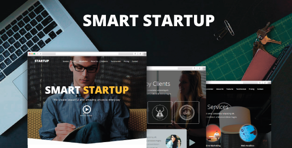 Smart Startup – Creative Muse Template