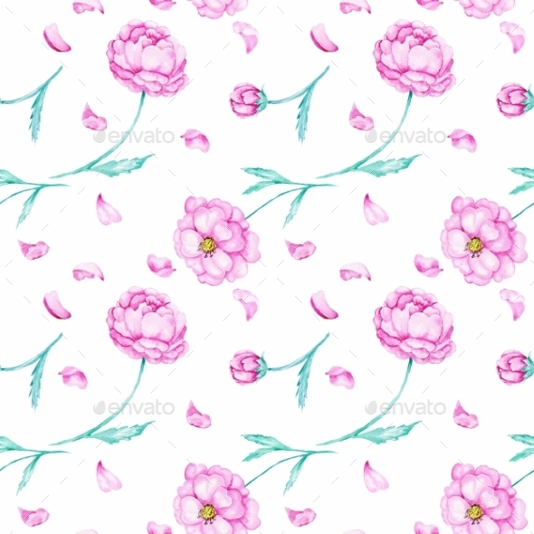 Spring Watercolor Wallpaper - Patterns Decorative