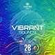 Vibrant Sounds Party Flyer Template - GraphicRiver Item for Sale