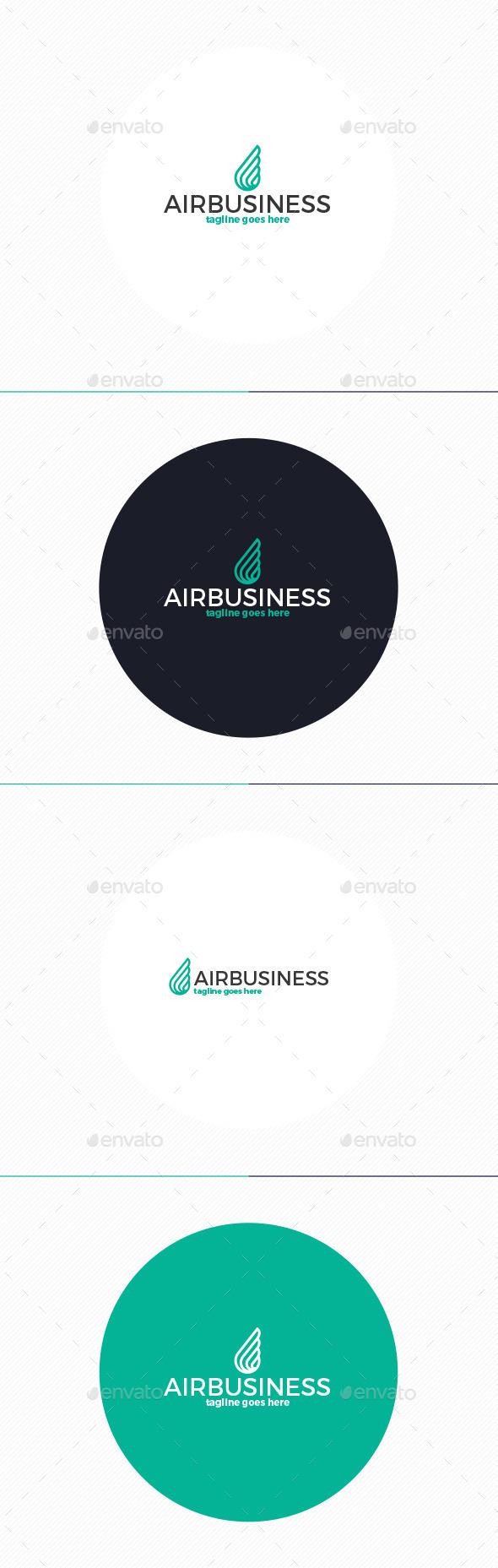 Air Business Logo - Vector Abstract