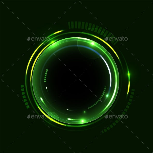 Abstract Circles Background - Backgrounds Decorative
