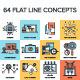 Flat Line Concepts - GraphicRiver Item for Sale