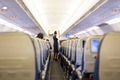 Stewardess on the airplane. - PhotoDune Item for Sale