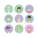 Modern Avatars - GraphicRiver Item for Sale