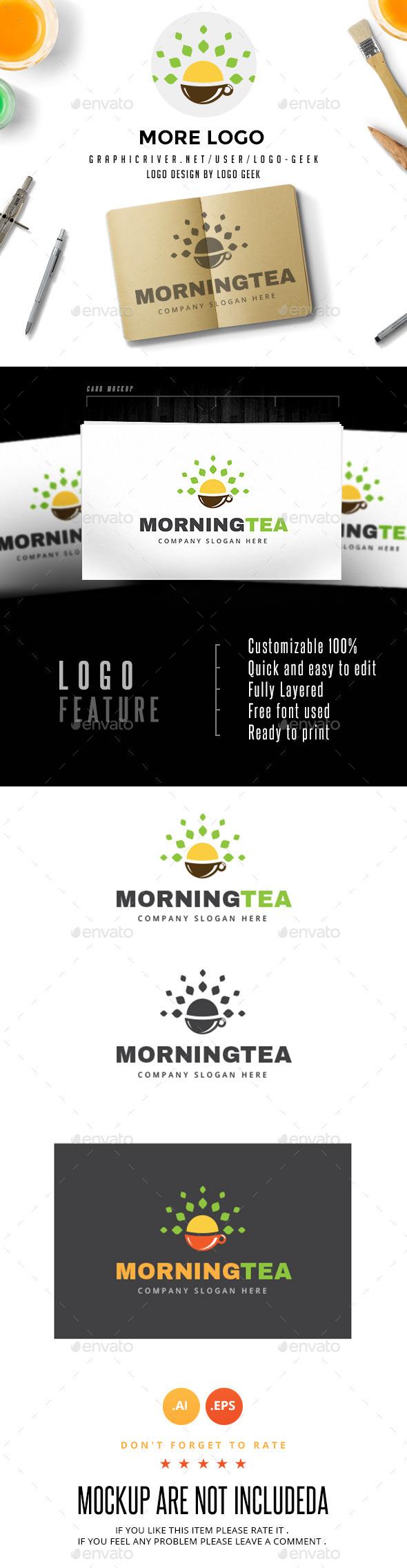 Morning Tea - Logo Templates