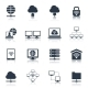 Network Icons Black - GraphicRiver Item for Sale