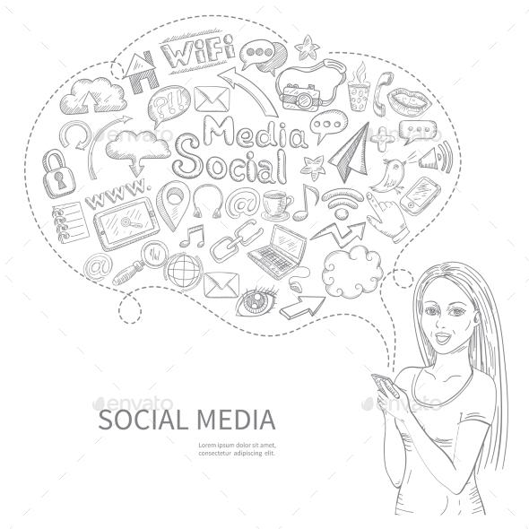 Social Media Concept - Miscellaneous Conceptual