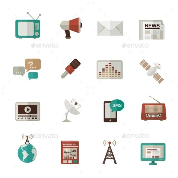Media Icons Flat - Media Icons