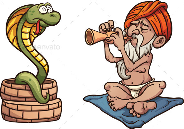 Snake Charmer - People Characters