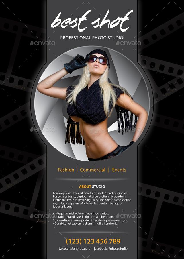 Photo Studio Flyer Template 74