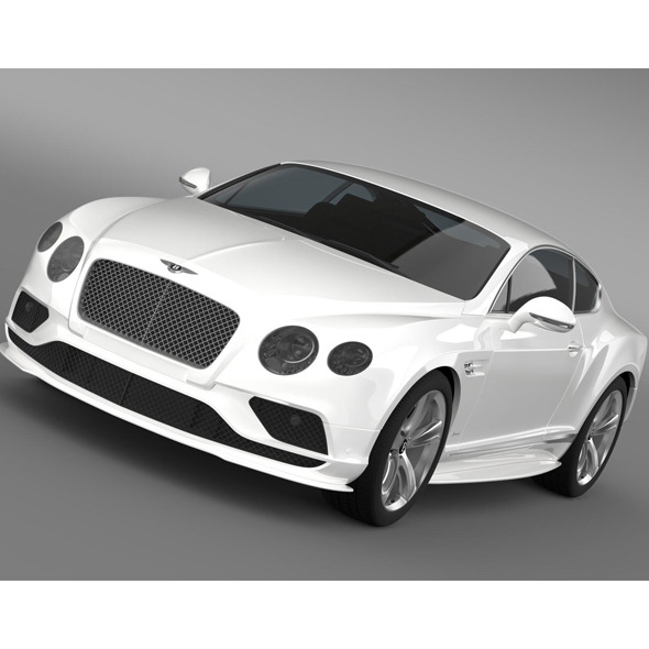 Bentley Continental GT Speed 2015 - 3DOcean Item for Sale