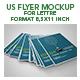 Us Letter Flyer Mockup - GraphicRiver Item for Sale