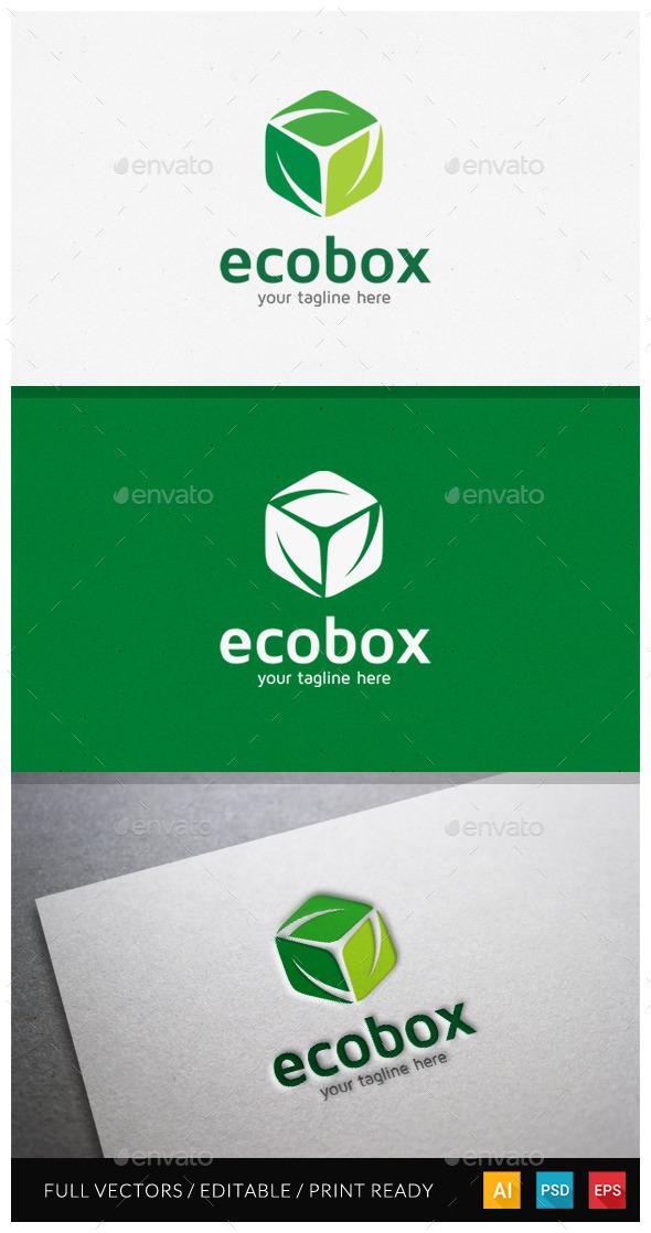Ecobox Logo Template - Nature Logo Templates