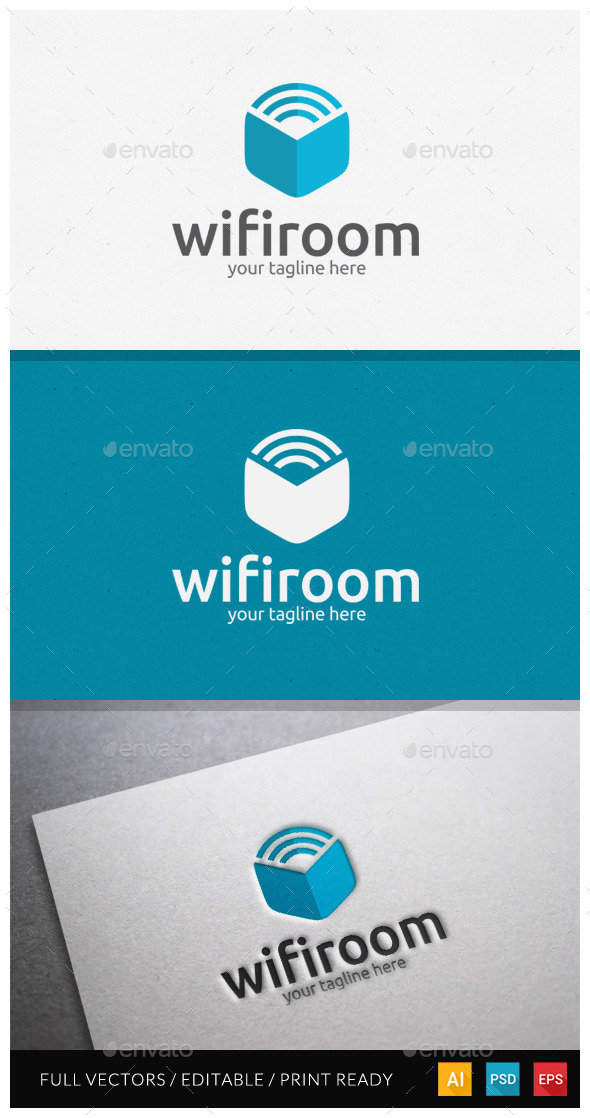 Wifiroom Logo Template - Objects Logo Templates