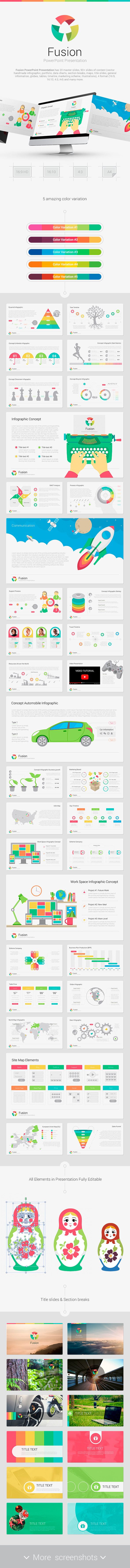 Fusion PowerPoint - Creative PowerPoint Templates