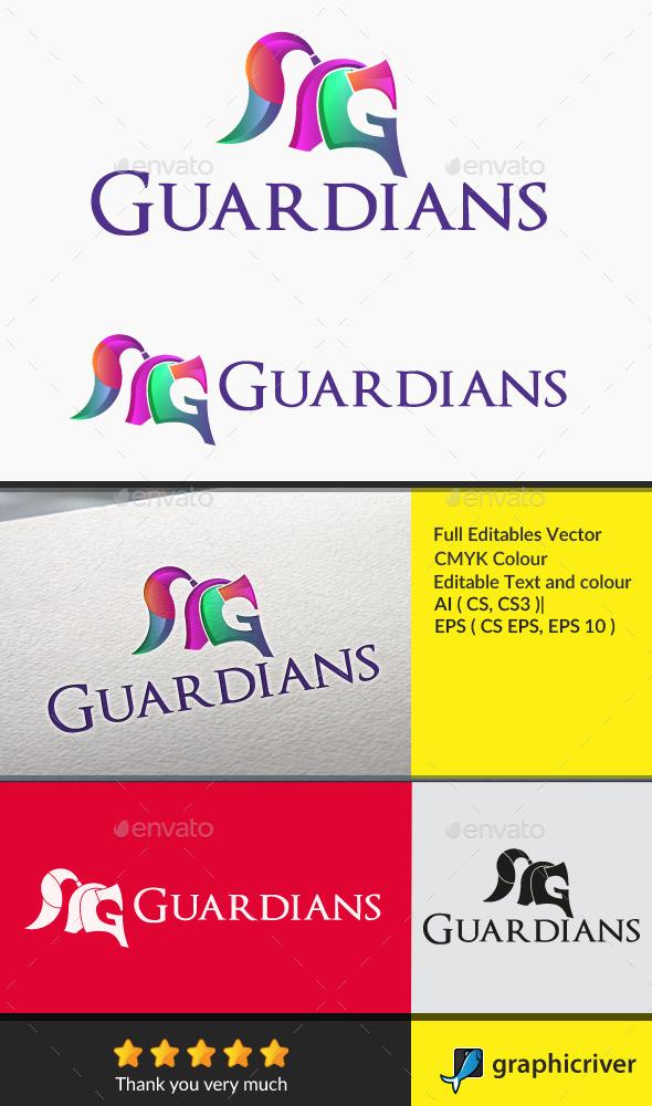 Guardians Letter G - Letters Logo Templates