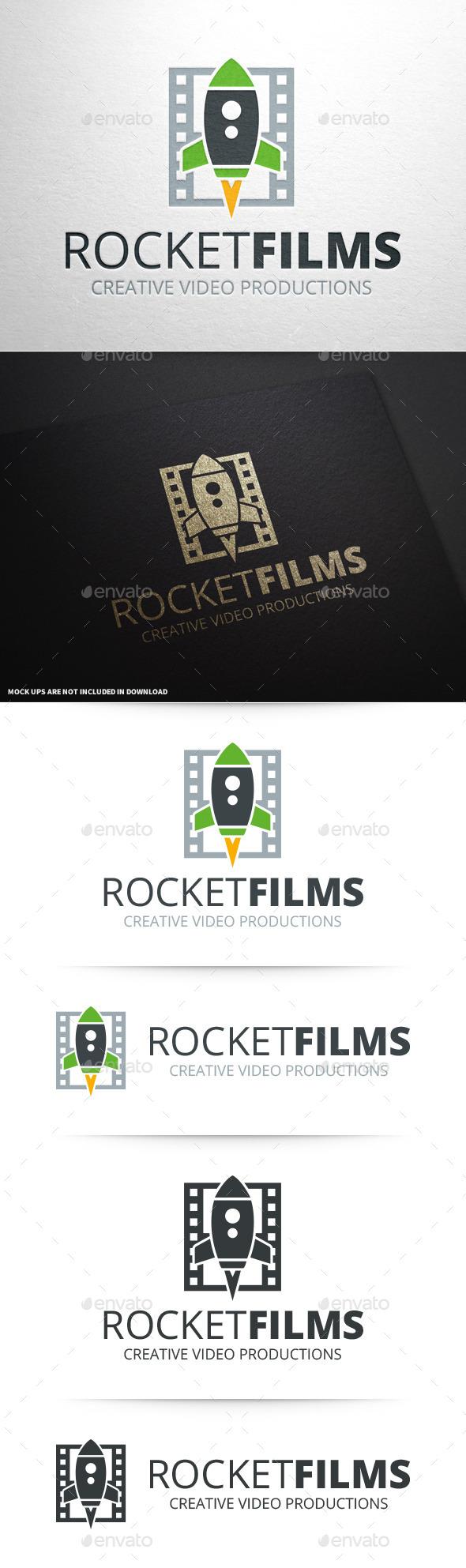 Rocket Films Logo Template - Objects Logo Templates