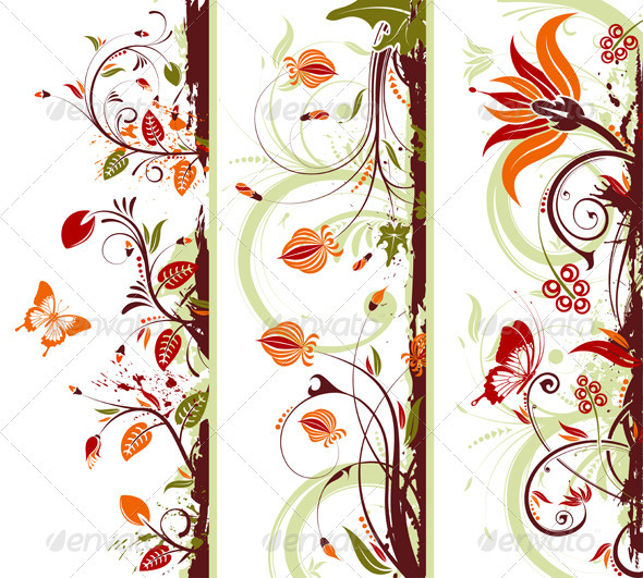 Collect Floral Frame - Borders Decorative