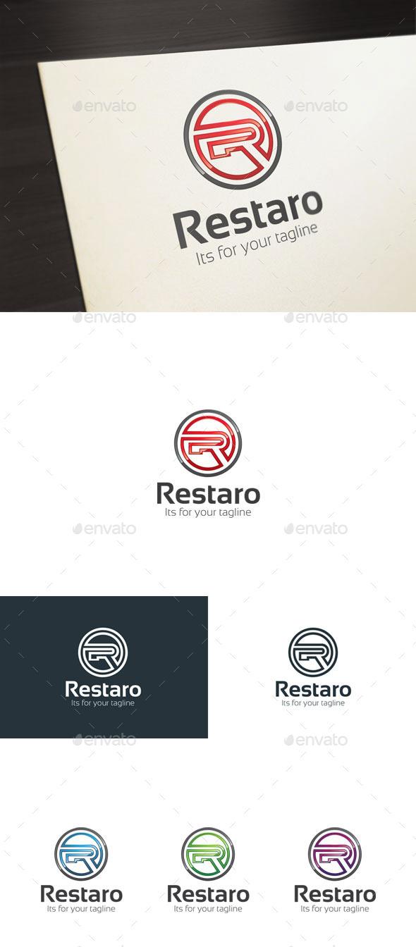 Restaro, R Letter Logo - Letters Logo Templates