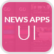 News Apps UI - GraphicRiver Item for Sale