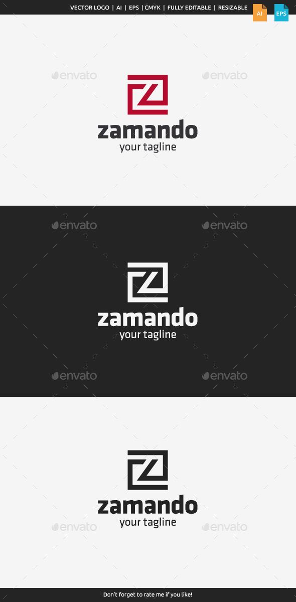 Zamando - Letter Z - Letters Logo Templates