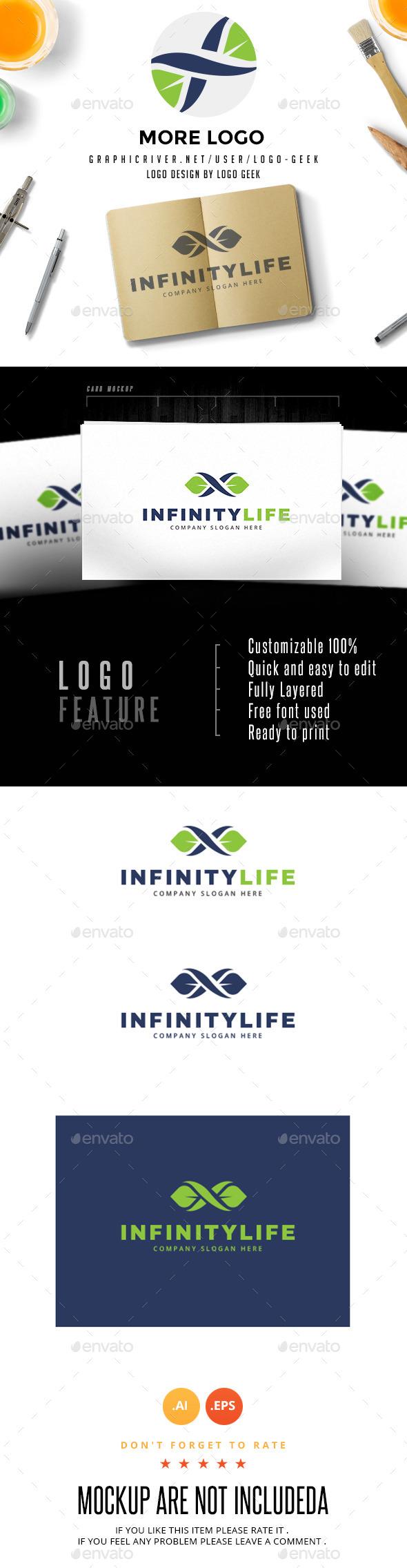 Infinity Life - Logo Templates