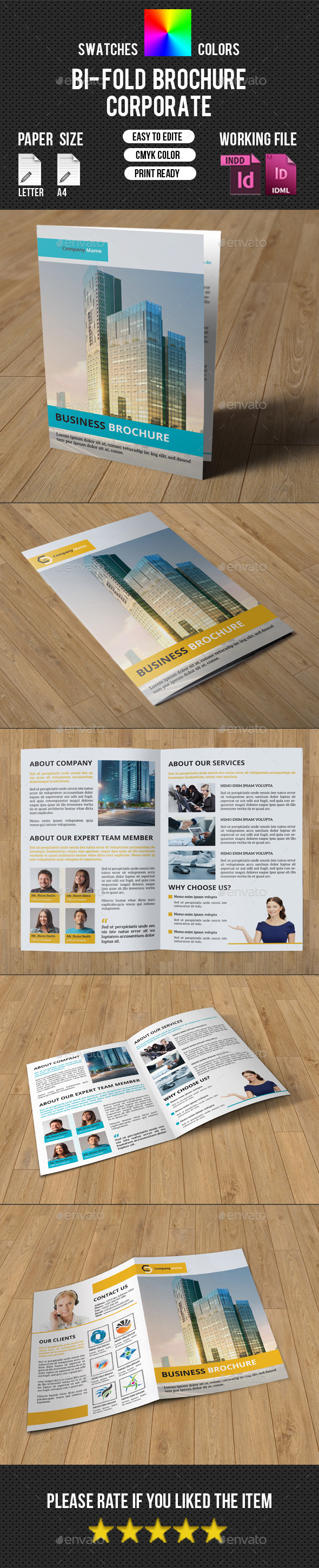 Corporate 4 Page Brochure-V215 - Corporate Brochures