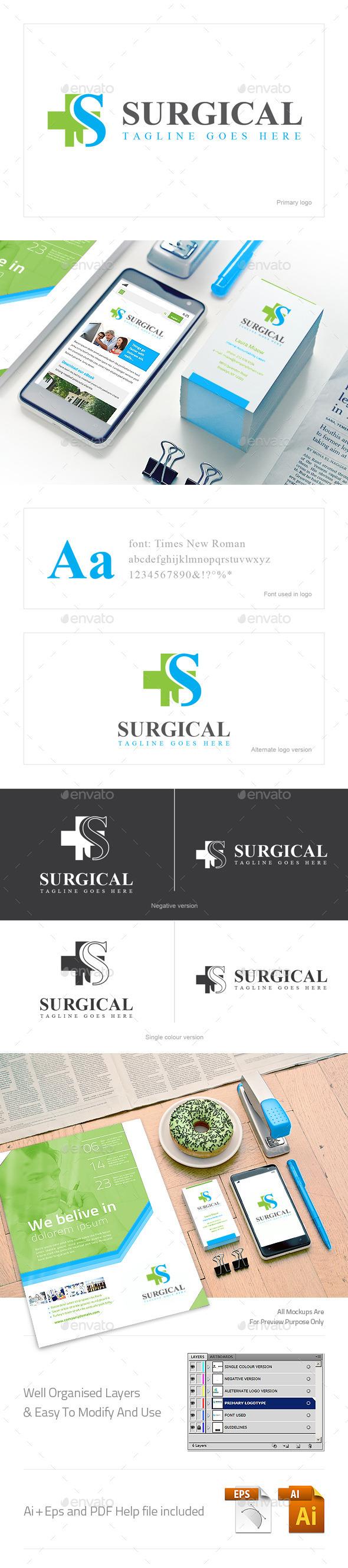 Surgical Logo - Logo Templates