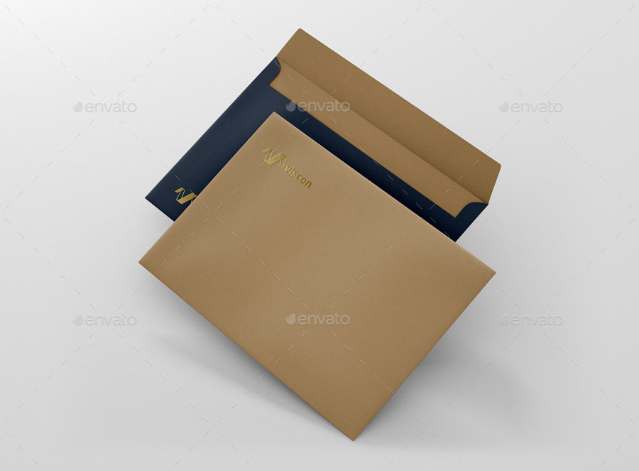 Envelope C5 Mock Up