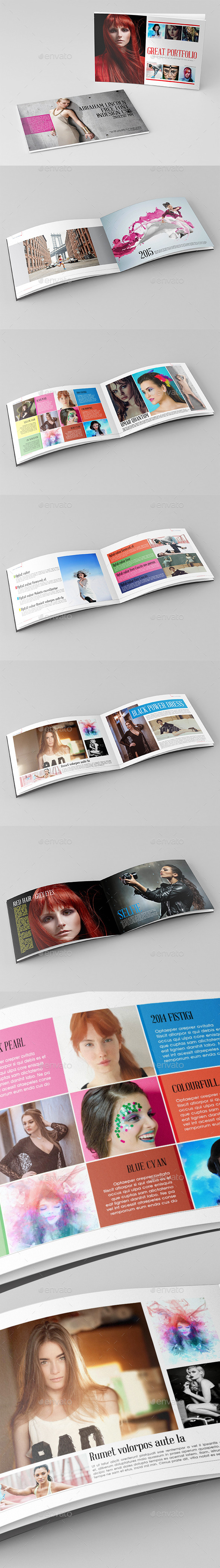 Great Portfolio&Brochure Template - Brochures Print Templates
