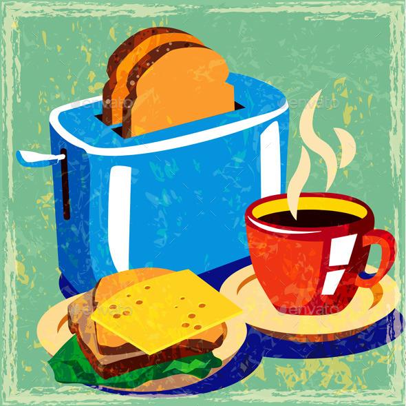 Breakfast - Food Objects