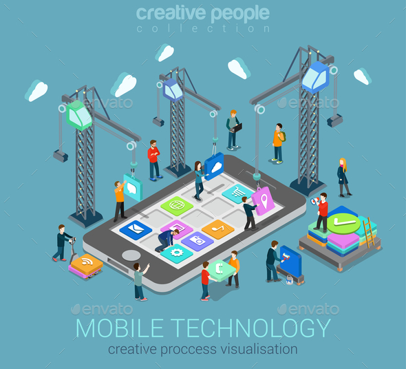 Mobile Technology Infographic - Communications Technology