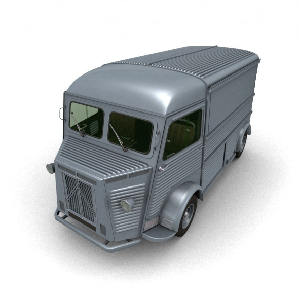 Citroen Type H Van 1948 - 3DOcean Item for Sale