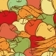 Apples and Carrots Seamless Pattern - GraphicRiver Item for Sale