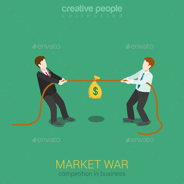 Business Competition - People Characters