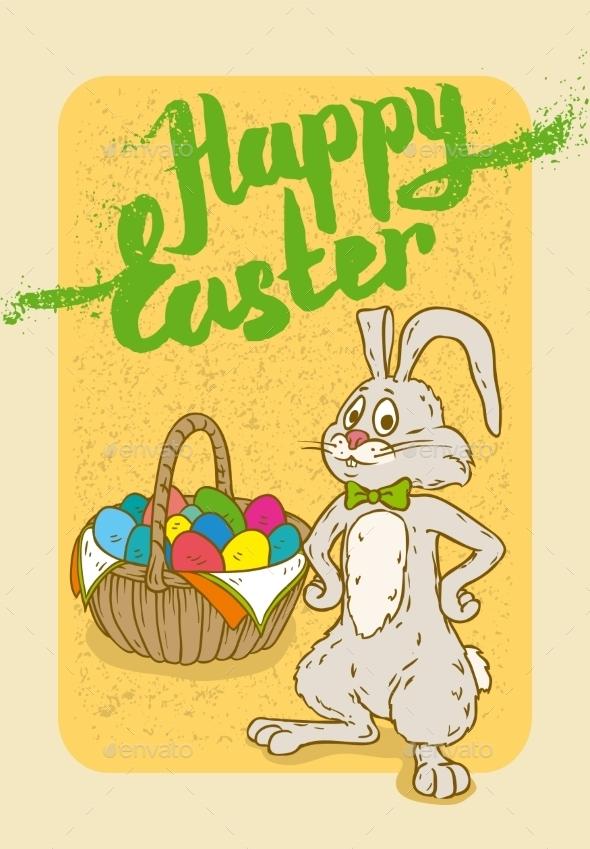 Happy Easter Postcard - Miscellaneous Seasons/Holidays