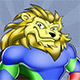 Superhero Lion Mascot - GraphicRiver Item for Sale