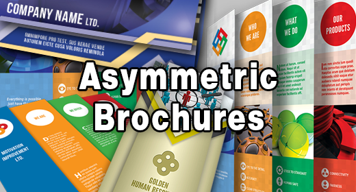 Asymmetric Brochures
