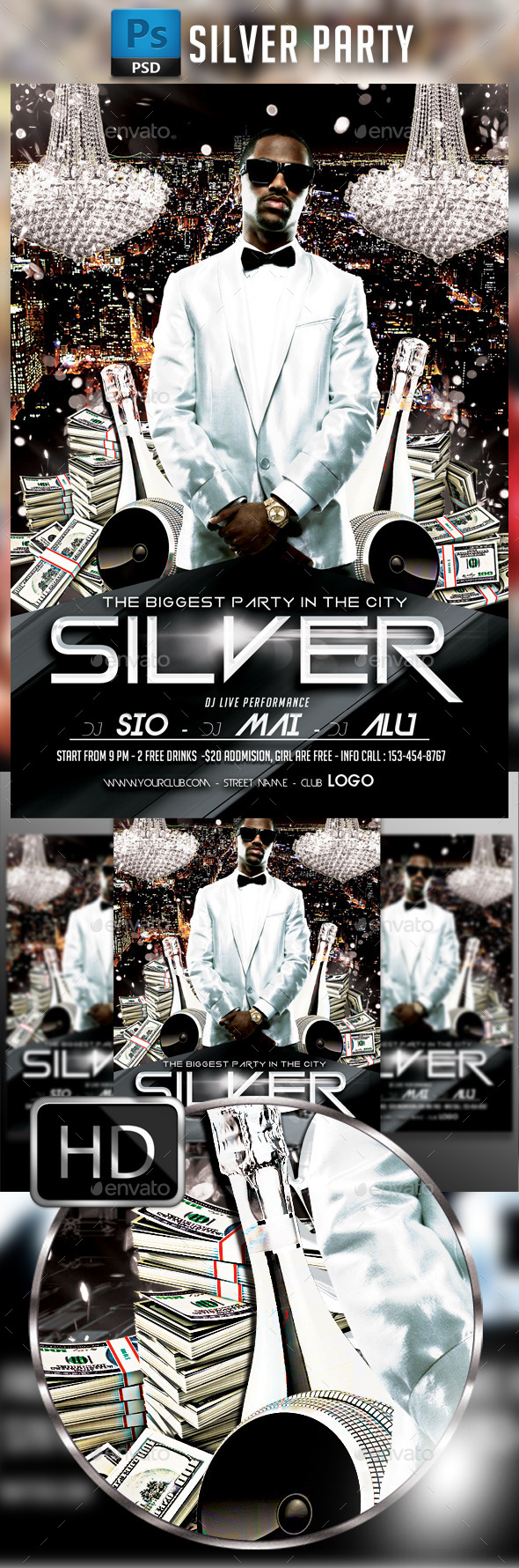 Silver Party - Clubs & Parties Events