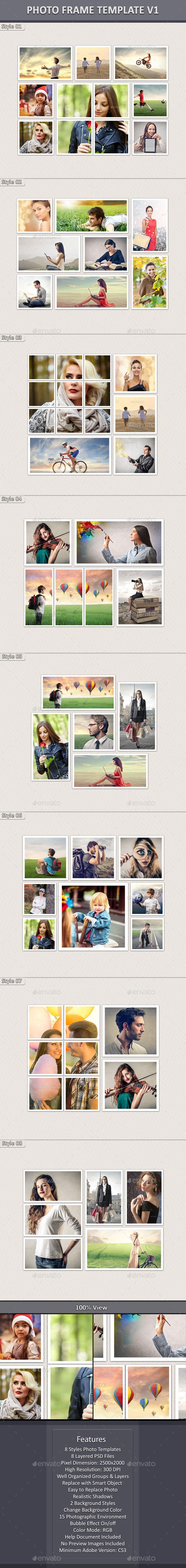 Photo Frame Template v1 - Miscellaneous Photo Templates