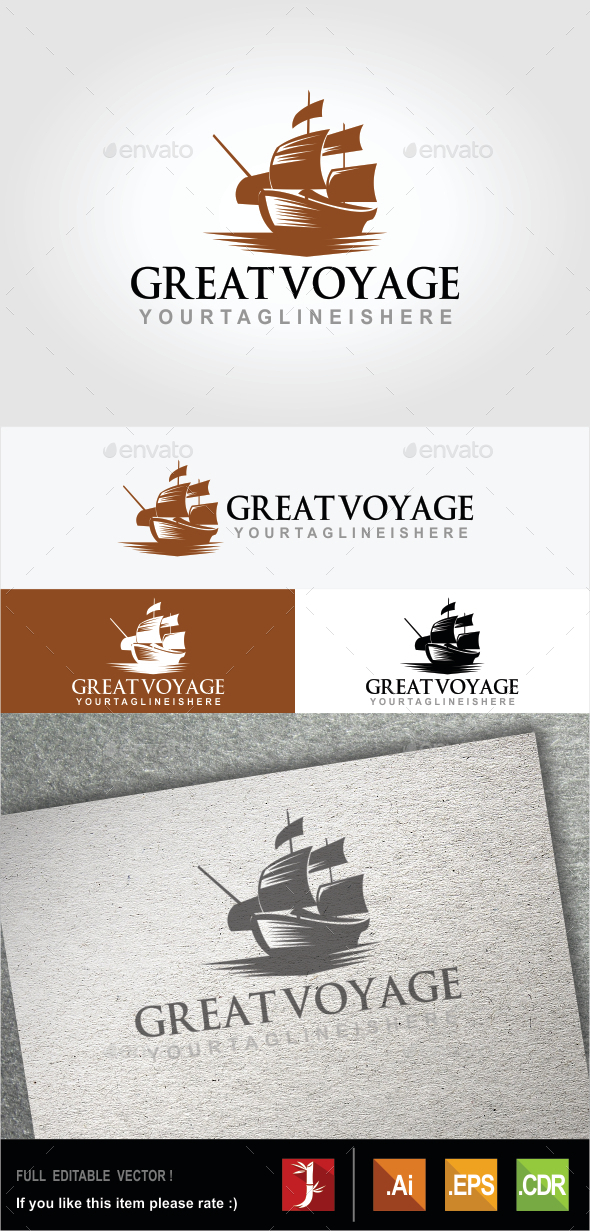 Great Voyage - Objects Logo Templates