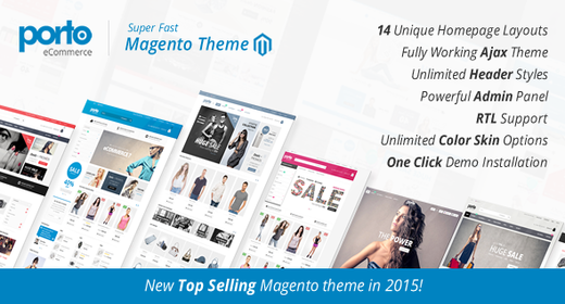 Best Responsive Magento Themes 2016 - 2017
