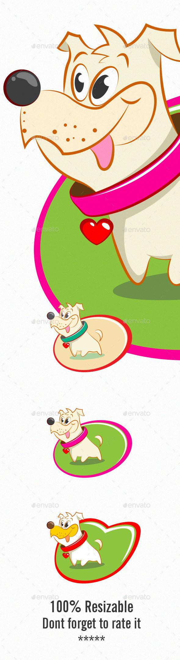 Dog - Characters Vectors