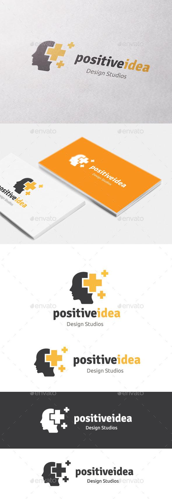 Positive Idea - Humans Logo Templates