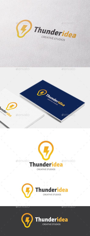Thunder Idea - Objects Logo Templates