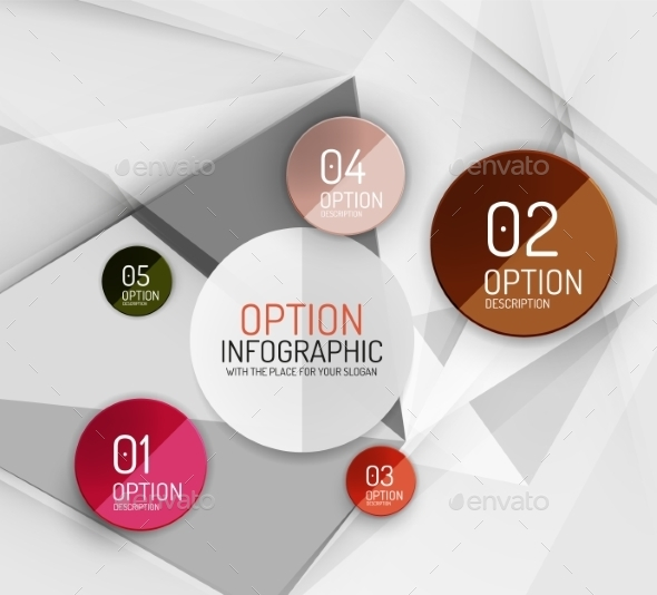Infographic Template  - Web Elements Vectors