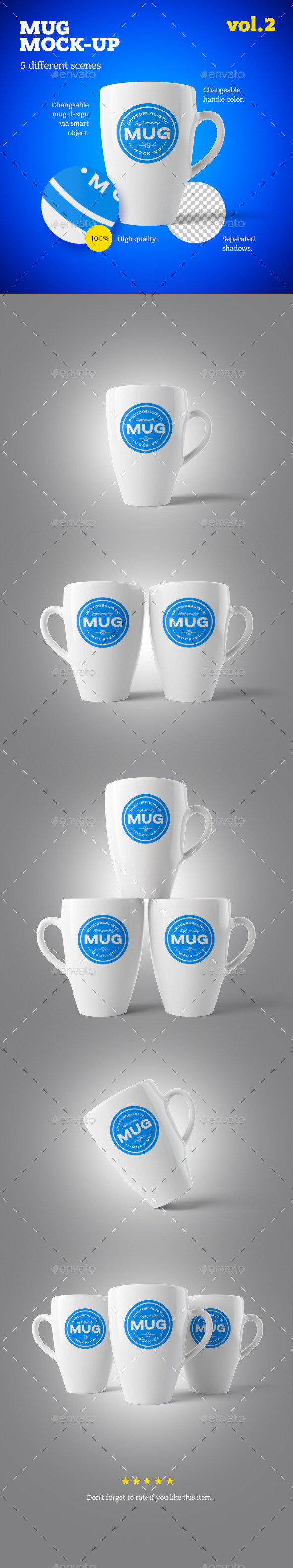 Mug Mock-up Vol.2 - Logo Product Mock-Ups